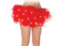 Underwraps light up Tutu in red