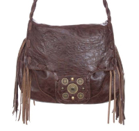 Fringe messenger bag 296 from JJ Winters