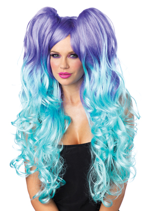 Long Curly Moonlight wig