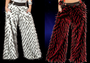 Colors of Spike fur in Pants